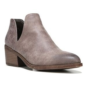 Fergalicious Taupe Ankle Booties
